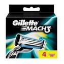 Gillette Mach3 Zamjenske britvice 4 kom.