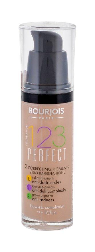 Bourjois Paris 123 Perfect Foundation Puder za savršen izgled lica 30 ml nijansa 56 Beige Rose
