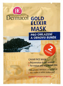 Dermacol Gold Elixir Caviar Face Mask Pomlađujuća maska s..