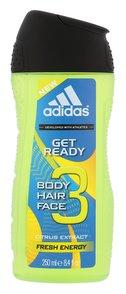 Adidas Get Ready Gel za tuširanje 250 ml